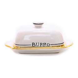 Artistica - Hand Made in Italy - Posata: Butter Dish with Cover - Posata Collection.