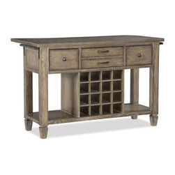 Legacy Classic Brownstone Village Kitchen Island -