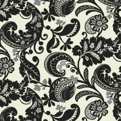 Alexandra Scroll Fabric by IMAN