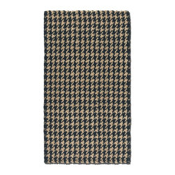 Uttermost - Uttermost Bengal 8 x 10 Rug - Black 71036-8 - Hand Woven Black And Natural Jute.