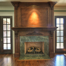 Traditional Family Room by Whitestone Builders