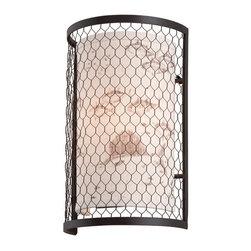 Troy Lighting - Troy Lighting B4021 Catch N Release Angler Bronze Wall Sconce - Troy Lighting B4021 Catch N Release Angler Bronze Wall Sconce