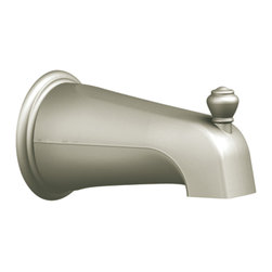 Moen - Moen 3807BN Monticello Diverter Tub Spout - The simple beauty of Monticello provides faucet, tub, showering, and accessory options that create a coordinated, sophisticated look in any home.