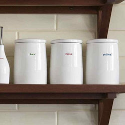 Coffee , Tea and Sugar Storage Jars