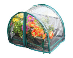 Zenport - Mini Balcony Greenhouse - The Zenport SH3270-12.5 12-Inch Mini Balcony Greenhouse is perfect for a small deck, patio or balcony, measuring 17 x 10.4 x 12-Inches (43x26.5x30cm). This greenhouse can be placed almost anywhere in the garden. Many choose to have theirs on a patio or a balcony where they will receive most sunshine. When the patio is in use, the greenhouse can simply be moved out of the way and put back when finished. However it can also be used for display purposes in which case it can be kept permanently on the patio to show off your finest specimens.
