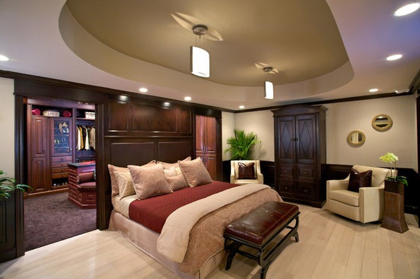 Contemporary Bedroom by Roomscapes Luxury Design Center