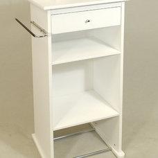 Closet Storage Nightstand Valet Stand