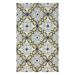 nuLOOM - Contemporary 5' x 8' Multi Hand Hooked Area Rug HK87 - Made from the finest materials in the world and with the uttermost care, our rugs are a great addition to your home.