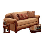 Chelsea Home Furniture - Chelsea Home Linda Sofa in Key West Umber - Linda sofa in key west umber belongs to Verona I collection by Chelsea Home Furniture.