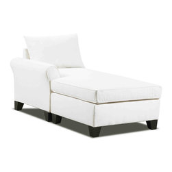None - Belle Meade Left Arm Chaise - This lovely chaise lounge is a wonderful example of elegance and style that still holds a great amount of comfort. You'll love having an extended rest in this wonderful seat while the luxurious style changes the entire atmosphere in the room.
