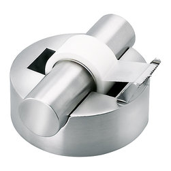 Blomus - Akto Tape Dispenser - People will be clamoring to hijack your tape dispenser, and why wouldn't they with this beaut?  It's stainless steel, has a neat and modern design, and it isn't clunky like most tape dispensers. Cool shoes are cool.  Cool tape dispensers are even cooler.