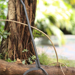 None - Starsong 35-inch Metal Fire Pit Tong - Move wood and fire-pit materials safely and easily with these steel tongs that are just as stylish as they are functional. Finished with high temperature paint for durability,these tongs should last for years and years to come.