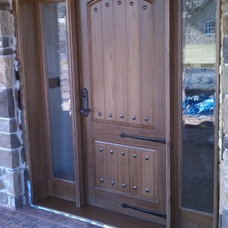 Traditional Front Doors by Battletown Custom Woodworks LLC
