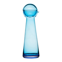 Bird's Eye Carafe - A little birdie told you to grab one of these turquoise carafes. Fill it with ice cold water or chilled, fruity sangria for a summertime cool-down drink.