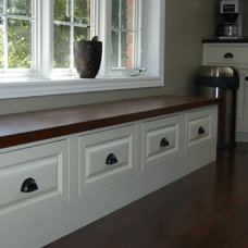Traditional Kitchen Cabinetry by The Loyalist Woodworking Co.