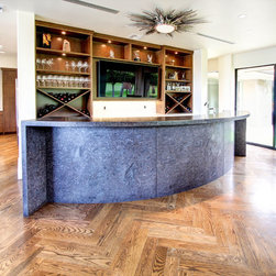 Granite Counter Top With a Brushed Surface - Cameron DeMille