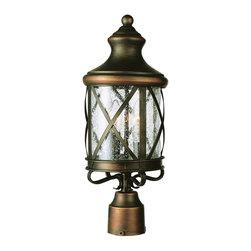 Trans Globe Lighting - New England Coastal 4-Light Traditional Outdoor Post Lantern Light - Trans Globe Lighting New England Coastal 4-Light Traditional Outdoor Post Lantern Light X-CA 5215