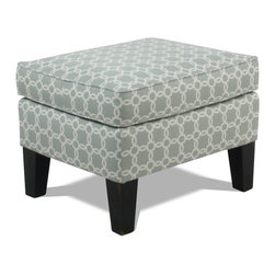 Laurie Ottoman - Living Spaces