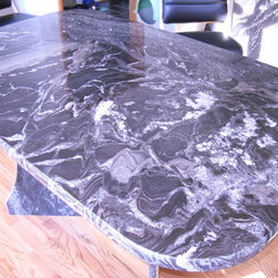 Campbell - All granite table top and granite legs - Pretoria Granite