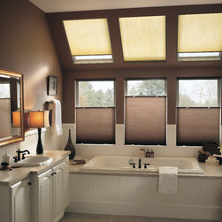 "Bali® DiamondCell® 3/8"" Double Cell Cellular Shades: Northern Lights -"