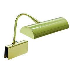 """House of Troy - House of Troy GPH10-PB Piano Lamp - Base/Backplate: adjusts to .75"""""""
