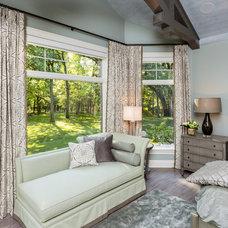 Transitional Bedroom by Meghan Blum