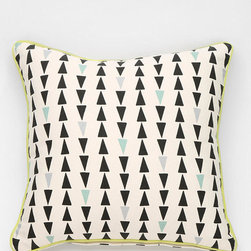 Assembly Home Arrow Pillow - I am smitten with all things throw pillow. They're one of the easiest and most wallet-friendly ways to change the feel and tone of a space.