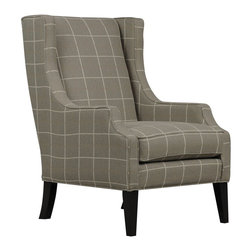 Marilyn Mineral Wing Chair - Living Spaces