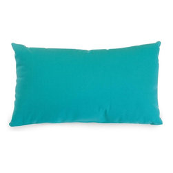 Majestic Home Goods - Teal Small Pillow - Add a splash of color and a little texture to any environment with these great indoor/outdoor plush pillows by Majestic Home Goods. The Majestic Home Goods small Pillow will add additional comfort to your living room sofa or your outdoor patio. Whether you are using them as decor throw pillows or simply for support, Majestic Home Goods pillows are the perfect addition to your home. These throw pillows are woven from outdoor treated polyester with up to 1000 hours of U.V. protection, and filled with Super Loft recycled polyester fiber fill for a comfortable but durable look. Spot clean only.