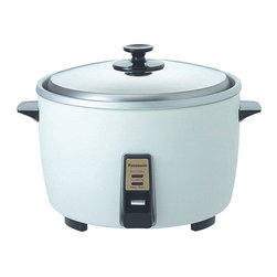 Panasonic - Panasonic SR42F2 23-cup Silver Rice Cooker - Simple and reliable rice cooker from Panasonic makes perfect rice for partiesMassive rice cooker is ideal for buffets and large family gatheringsKitchen appliance from Panasonic is easy to use