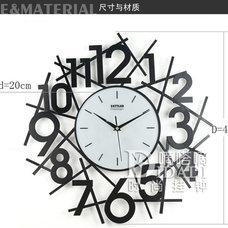 Modern Wall Clocks by bathandbedgoods