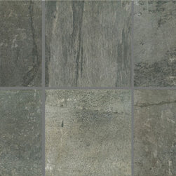 Vals Porcelain Tile - Slightly textured stone-look with straight edges - Taking its inspiration from stone, VALS is an inkjet series with many different faces. It is a slightly textured stone-look tile with straight edges. It offers a unique and diverse color palette and provides the performance of glazed porcelain tile.