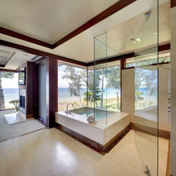 Contemporary Windows and Doors - Designed by DesRosier Architects.