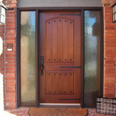 Traditional Front Doors by MAXgreen Windows and Doors Ltd.