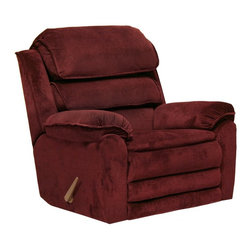 """Catnapper - Catnapper Vista Chaise Microfiber Rocker Recliner - 4733-2 2358-40 - Shop for Recliners from Hayneedle.com! Nothing better follows dinner than a little port but sinking into the Catnapper Vista Chaise Microfiber Rocker Recliner is definitely an acceptable substitute. The ultra-soft surface of the textured micro-denier fabric gives you extra comfort looks and feels like suede without the cost or maintenance hassles. Segmented foam cushions cover the back and footrest to provide you with increased support and the precision-cut engineered wood frame is designed to support plenty of foam cushioning and you while you kick back. A simple hand-operated lever lets you drop the back and raise the feet for that classic recliner-style relaxation. About Jackson Furniture (Catnapper creators)Started in 1932 Jackson Furniture has grown to be one of the largest family-owned living room furniture manufacturers in the world. Today Jackson Furniture Industries has a reclining furniture brand (Catnapper) and a mid-priced living room sofa brand Jackson Furniture. Through the years Catnapper has pioneered the development and manufacturing of many industry firsts: first recliner with a metal mechanism motion upholstery reclining sectionals X-tra Comfort and the """"Polaris"""" System - an """"All Steel"""" reclining system - built to last. Still family-owned and -operated Catnapper continues to lead the industry in comfort and value with its recliners and sectionals."""