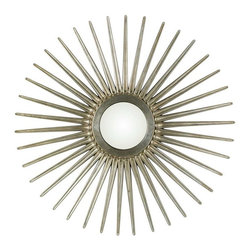 """Cooper Classics - Cooper Classics Sunburst Mirror, Antique Silver - The Sunburst mirror will add a stunning, bold accent to your decor. This gorgeous mirror features an antique silver finish and large 54.5"""" Diameter that will enhance any room."""
