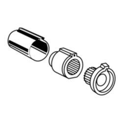 Moen - Moen 96987 Stop Tube for Posi-Temp Single Handle Tub and Shower Faucet in Chrome - Moen 96987 Stop Tube for Posi-Temp Single Handle Tub and Shower Faucet in Chrome