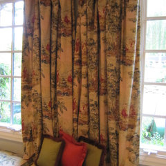 traditional curtains by Pamela Foster &amp; Associates, Inc.