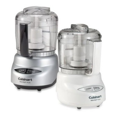 Cuisinart - Cuisinart Mini-Prep Plus Processors - This compact, yet powerful chopper and grinder features a three-cup bowl with handle so it can handle plenty of food preparations. Easy-to-clean touchpad allows you to chop or grind with a simple touch of a button.