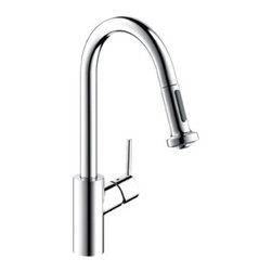 Kitchen Faucets by Hansgrohe at Ibathtile - Elegance and practicality in one faucet design.