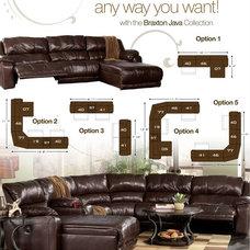 Sectional Sofas by FurnitureCart.com
