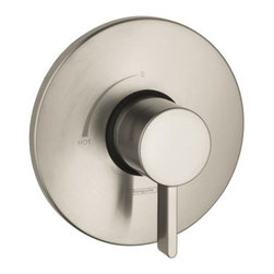 "Hansgrohe - Hansgrohe S Valve Trim Pressure Balance w/ Metal Lever Handle Less Valve - Features:  Lever Handle Flow Rate 6.5 GPM at 44 PSI 7/8"" Shallow Extension Set #13596Xx0 (Sold Separately) Requires Ibox Universal Plus Rough #01850181"
