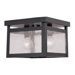 Livex Lighting - Livex Lighting 4051 Milford 2 Light Flush Mount Ceiling Fixture - Features: