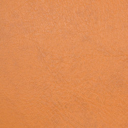 Bijou Coverings - Faux Leather Upholstery Fabric Sold By The Yard, Orange - This luxury faux leather material is great for all indoor upholstery applications including residential and commercial. This pattern is uniquely made to combine luxury with durability. This fabric will add an exotic touch to upholstered items such as sofas, chairs, seat cushions (decorative pillows), ottomans and headboards. To clean please use mild soap and water. Do not use alcohol based cleaning agents. Minimum purchase is 1 yard.