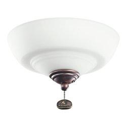 Kichler Lighting - Kichler Lighting Decor Bowl 42-46 Ceiling Fan Light Kit X-BBO421083 - Kichler Lighting Decor Bowl 42-46 Ceiling Fan Light Kit X-BBO421083