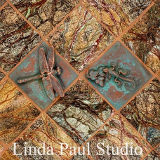 Eclectic Accent Trim And Border Tile by Linda Paul