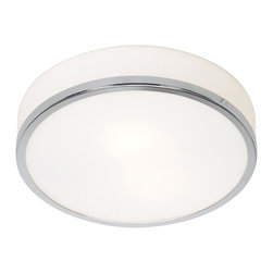 Joshua Marshal - Opal Aero 1 Light Flush Mount Ceiling Fixture - Opal Aero 1 Light Flush Mount Ceiling Fixture
