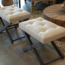 modern benches by Decorum Home + Design
