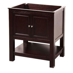 "Foremost - Foremost Gazette 30 Vanity Cabinet only, Espresso (GAEA3022) - Foremost G A3022 Gazette 30"" Vanity Cabinet only, Espresso"