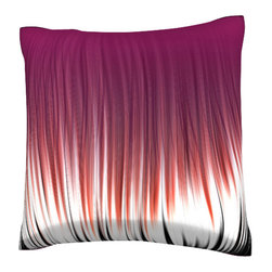 Custom Photo Factory - Linear Pattern Pillow.  Polyester Velour Throw Pillow - Linear Pattern Pillow. 18 Inches x 18  Inches.  Made in Los Angeles, CA, Set includes: One (1) pillow. Pattern: Full color dye sublimation art print. Cover closure: Concealed zipper. Cover materials: 100-percent polyester velour. Fill materials: Non-allergenic 100-percent polyester. Pillow shape: Square. Dimensions: 18.45 inches wide x 18.45 inches long. Care instructions: Machine washable
